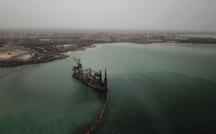 Eiffage Génie Civil Marine: début des activités de construction à Dakar pour le projet BP Grand Tortue / Ahmeyin