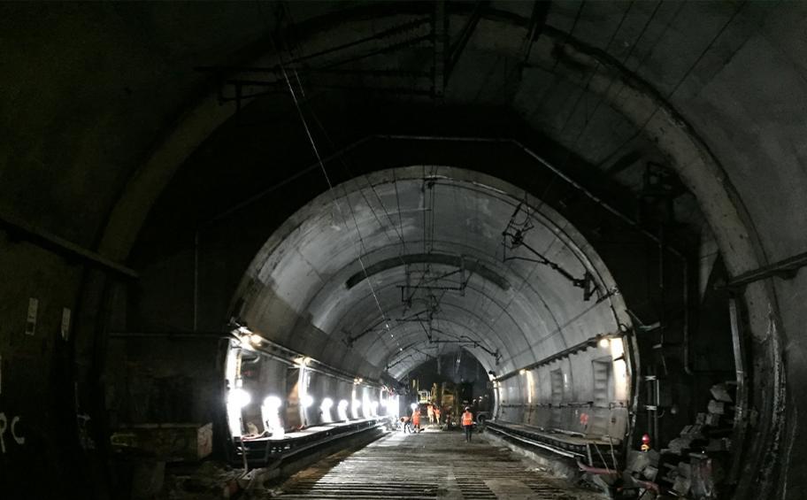 Les travaux d'été commencent sur le RER E
