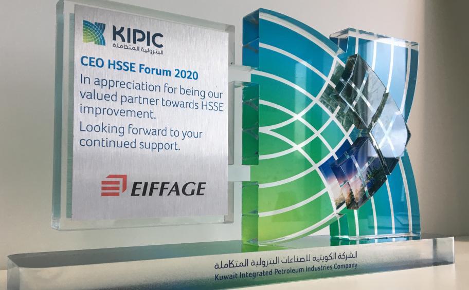 Eiffage Génie Civil Marine s'engage aux côtés de KIPIC pour la mise en service du projet Al-Zour