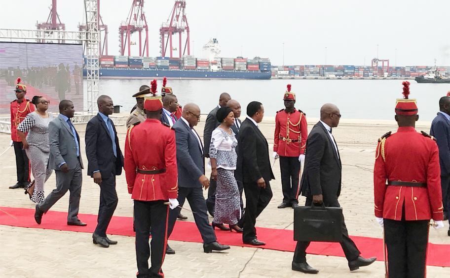 Congo : inauguration des nouveaux quais du Port autonome de Pointe Noire