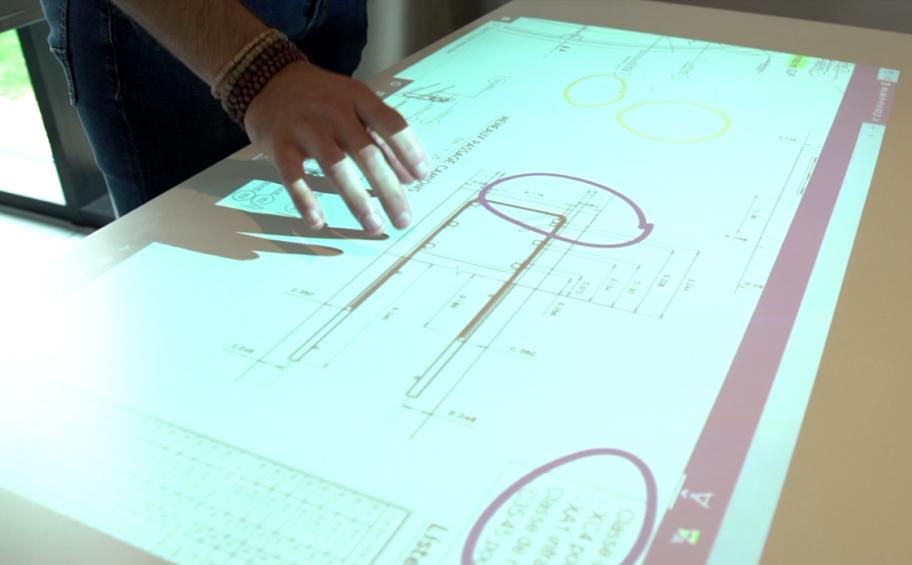 Génie civil : un projecteur high-tech testé au Biep