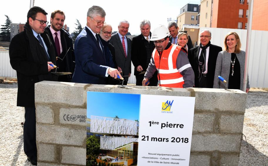 Eiffage Construction lays the foundations of the new public
