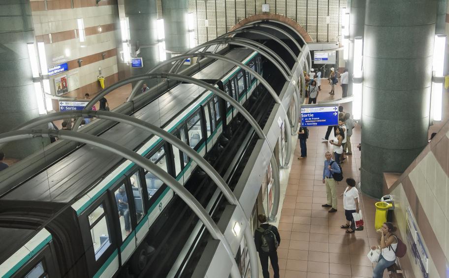 La RATP Choisit Faiveley Transport Et Eiffage Énergie Pour équiper - Portes palières