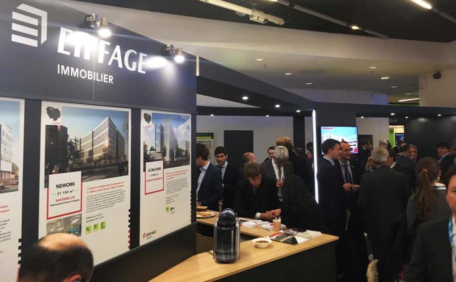 Eiffage immobilier s 39 expose au simi application eiffage for Salon immobilier entreprise