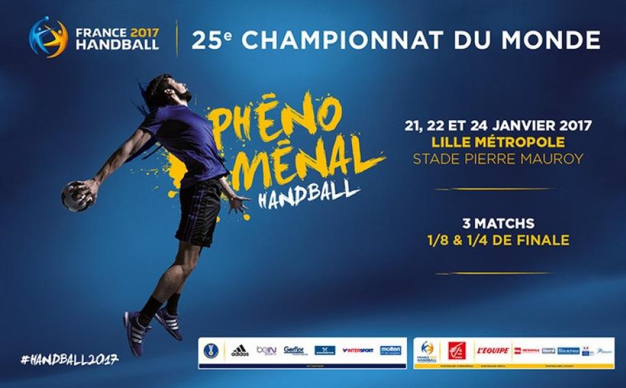 Le stade pierre mauroy se met en quatre pour les mondiaux de handball application eiffage - Finale coupe du monde handball ...