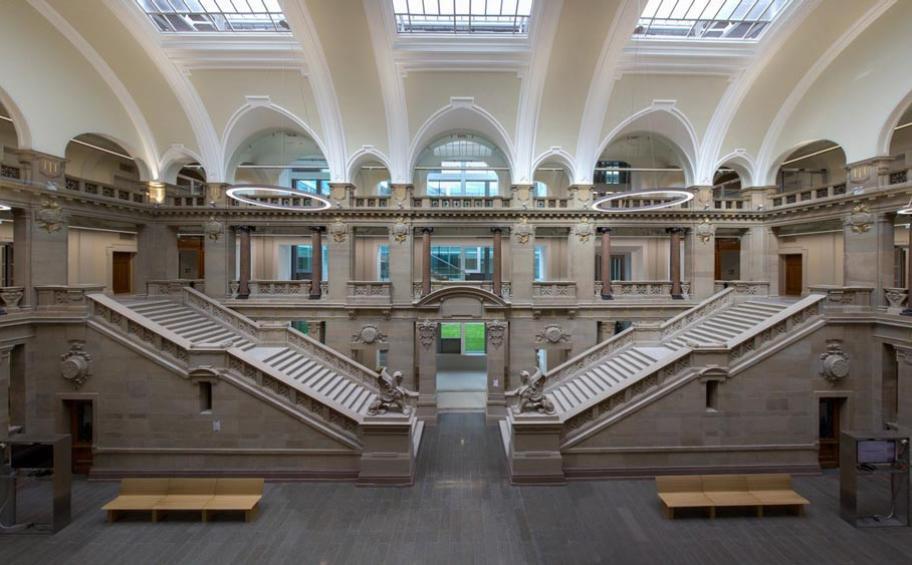 Le palais de justice de strasbourg r habilit par eiffage - Tribunal de grande instance de strasbourg chambre commerciale ...